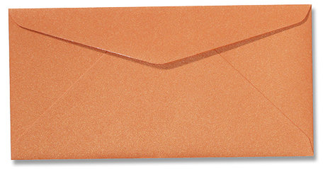 Metallic orange glow 11 x 22 cm